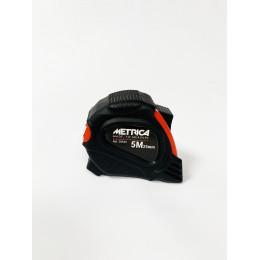 Ruban de mesure METRICA 5 m x 25 mm / 8 m x 25 mm rouge-noir